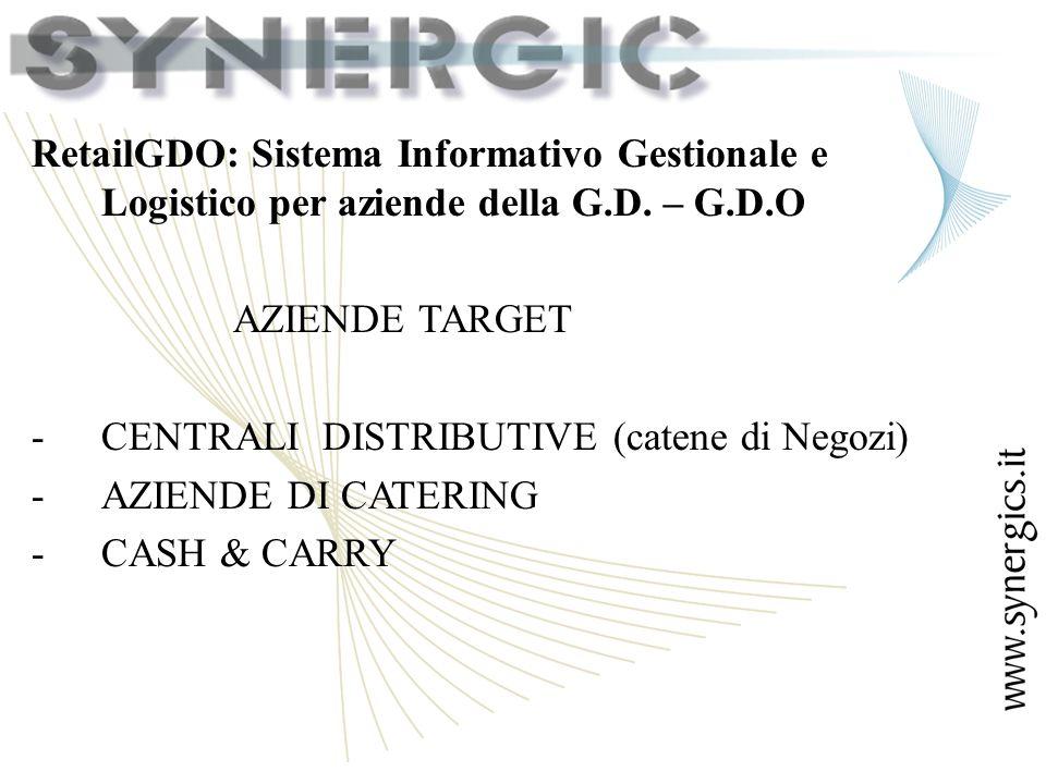 RetailGDO: Sistema Informativo Gestionale e Logistico per aziende della G.D.