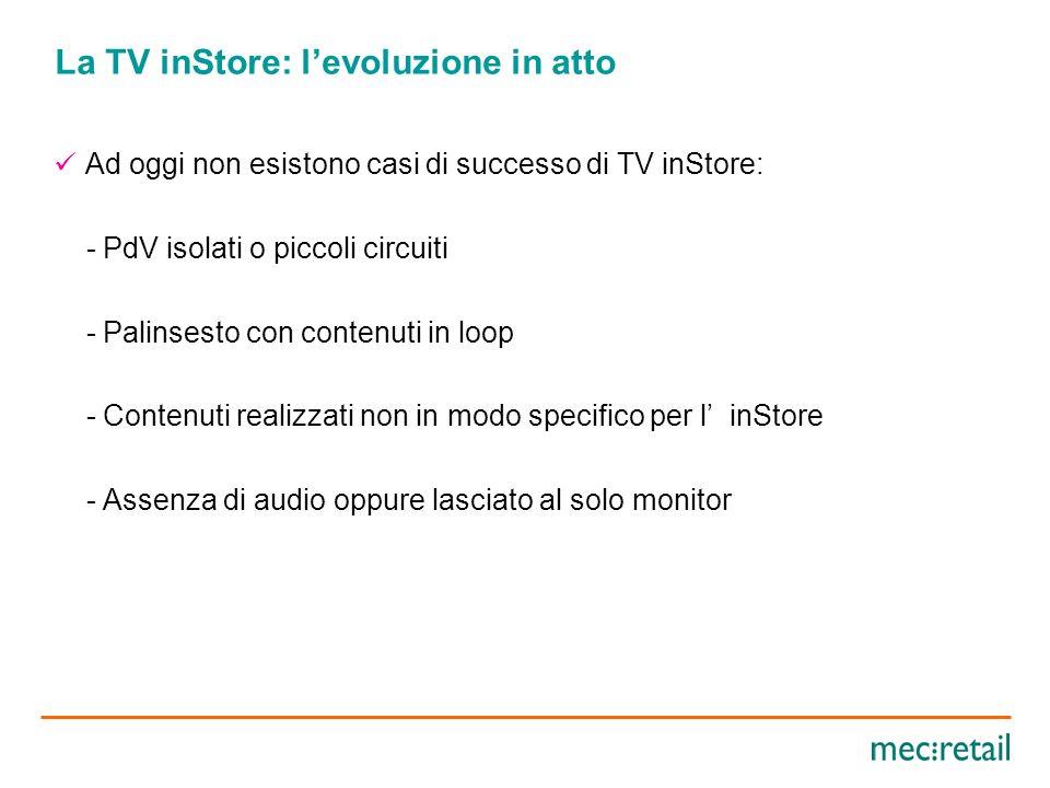 Efficacia della Radio inStore per il Retailer Comunicazione a supporto delle vendite ( private label – promozioni) Ambientazione sonora personalizzata