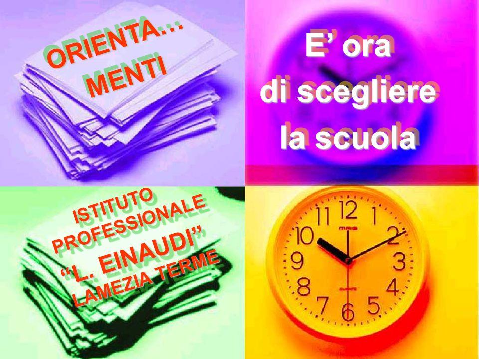 LOFFERTA FORMATIVA SETTORE SERVIZI ISTITUTO Professionale L.