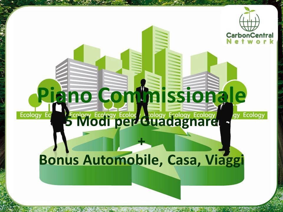 CC Piano Commissionale 5 Modi per Guadagnare + Bonus Automobile, Casa, Viaggi