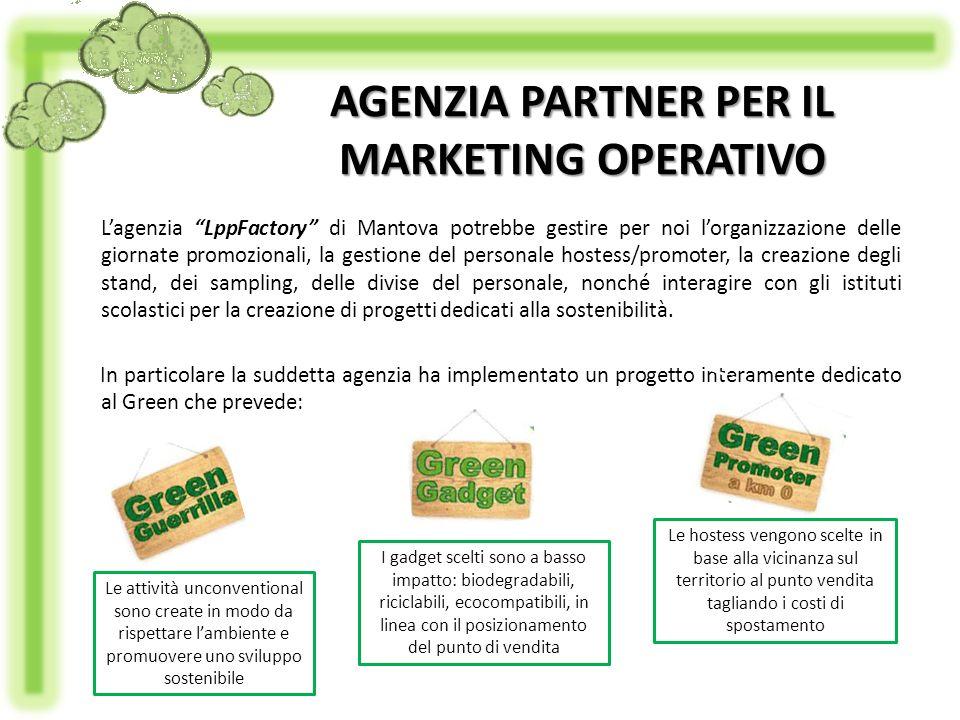 Lagenzia LppFactory di Mantova potrebbe gestire per noi lorganizzazione delle giornate promozionali, la gestione del personale hostess/promoter, la cr