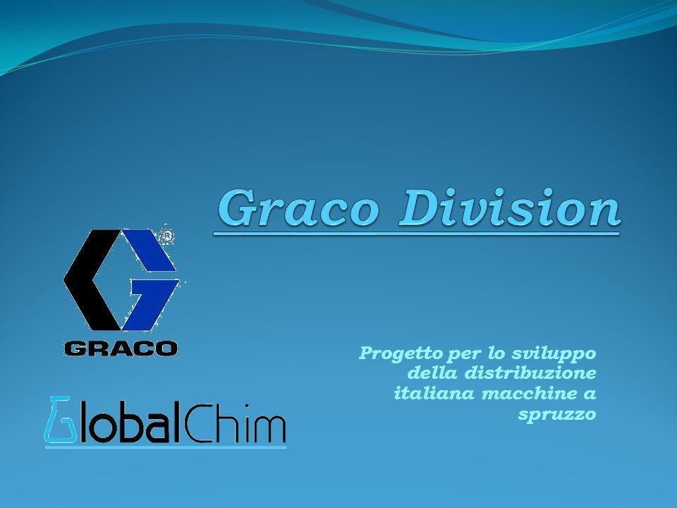 Progetto per lo sviluppo della distribuzione italiana macchine a spruzzo