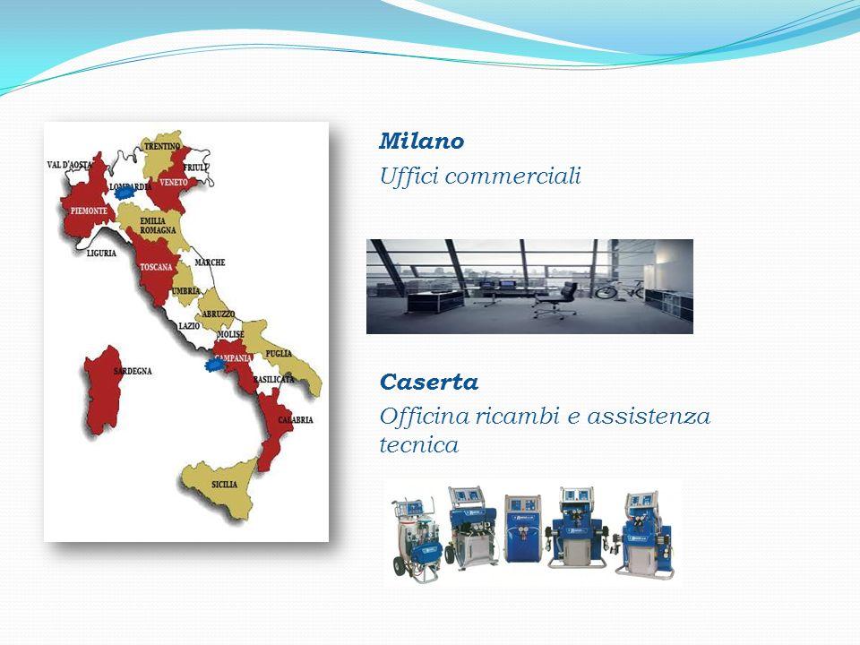 PROJ Milano Uffici commerciali Caserta Officina ricambi e assistenza tecnica