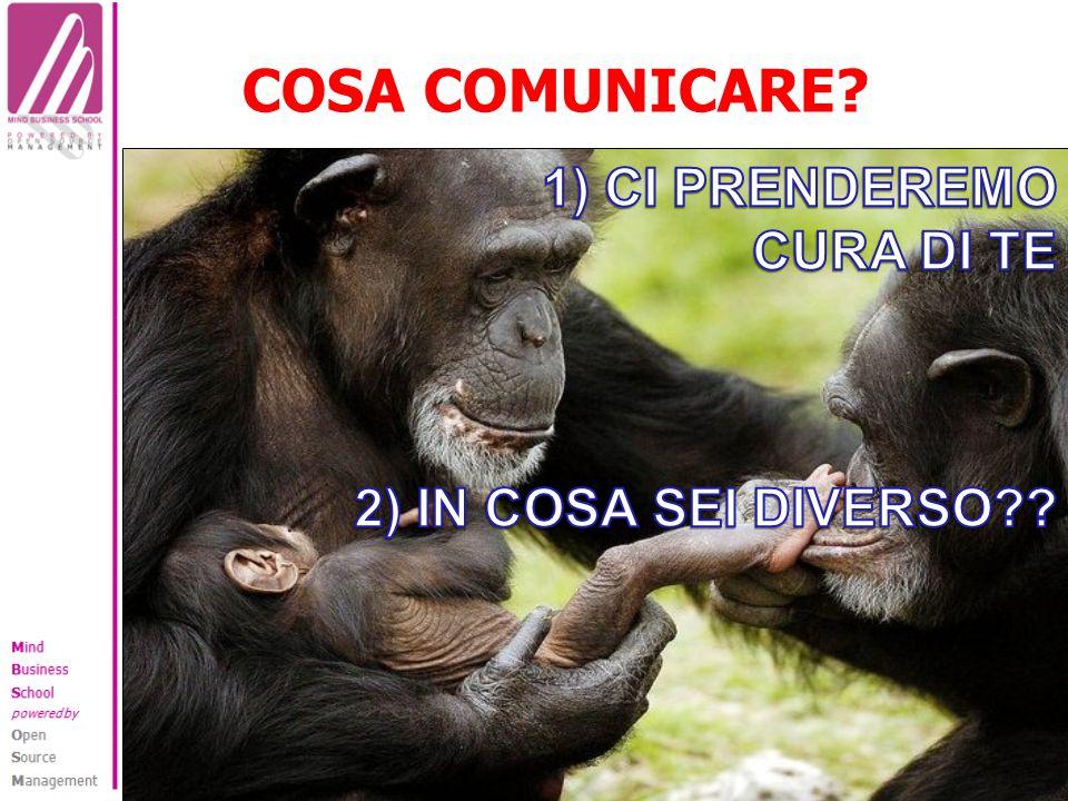 COSA COMUNICARE?