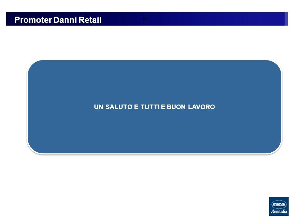hh Promoter Danni Retail UN SALUTO E TUTTI E BUON LAVORO