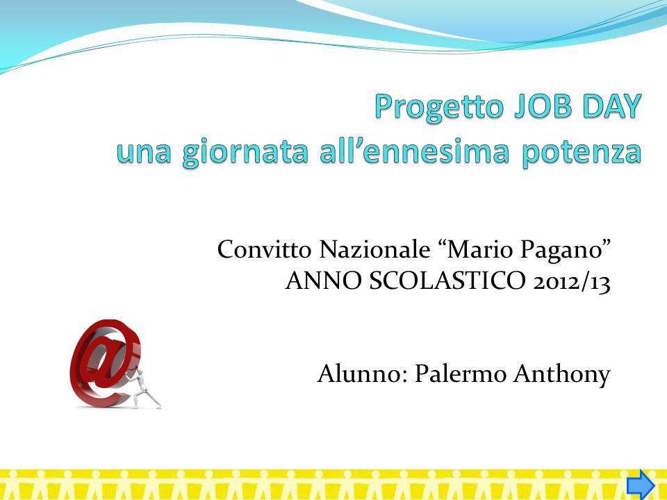 Convitto Nazionale Mario Pagano ANNO SCOLASTICO 2012/13 Alunno: Palermo Anthony