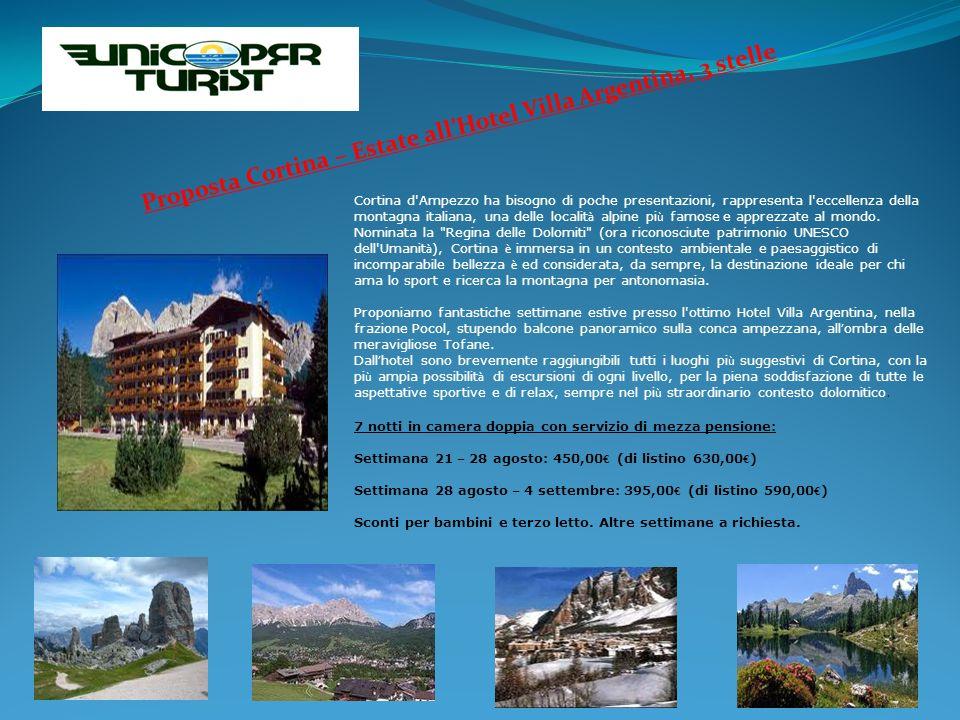 Cortina d Ampezzo ha bisogno di poche presentazioni, rappresenta l eccellenza della montagna italiana, una delle localit à alpine pi ù famose e apprezzate al mondo.