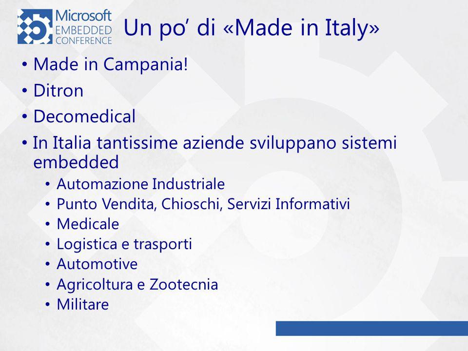Un po di «Made in Italy» Made in Campania.