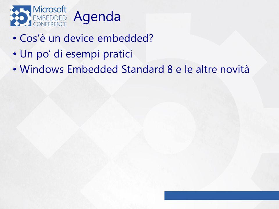 Agenda Cosè un device embedded.
