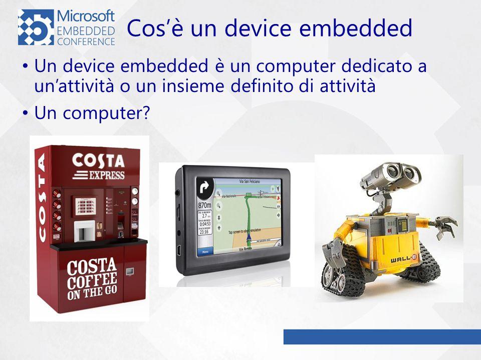 Il PC è un Device Embedded.