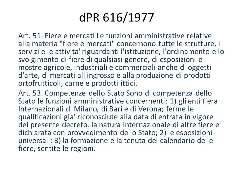 dPR 616/1977 Art. 51.