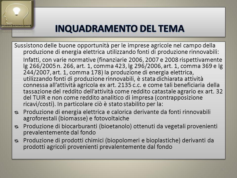 IV° Conto Energia – tariffe 2012 36