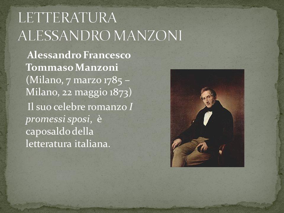Fu pubblicato in una prima versione nel 1827 e in seguito rivisto, soprattutto nel linguaggio, dallo stesso autore e ripubblicato nella versione definitiva fra il 1840 e il 1841.