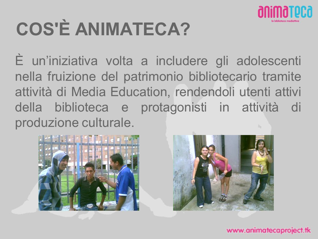 COS È ANIMATECA.