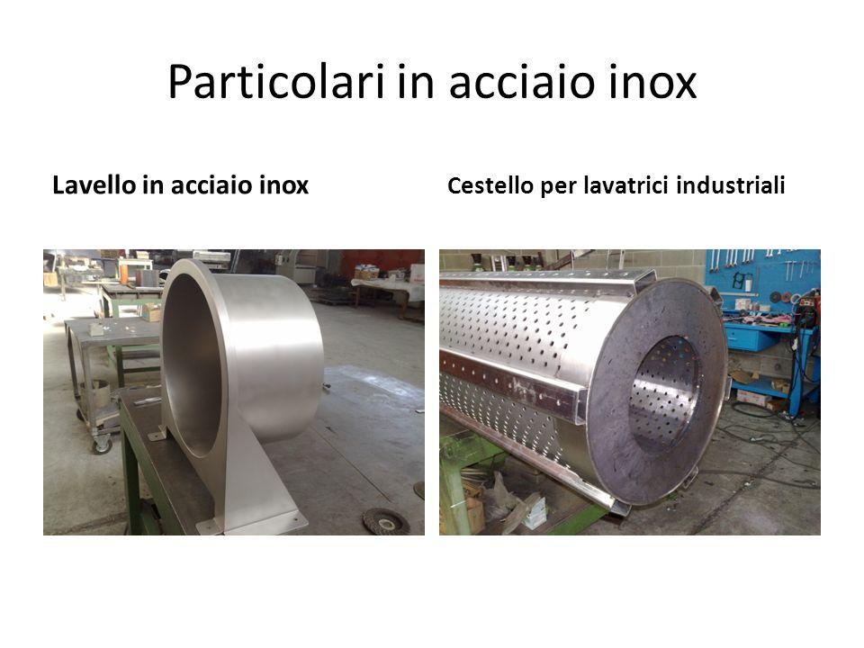 Particolari in acciaio inox Lavello in acciaio inox Cestello per lavatrici industriali