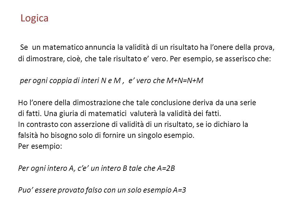 Logica Proposizionale Tabelle della Verita Molta della logica matematica puo essere capita piu facilmente con lintroduzione delle tabelle della verita.