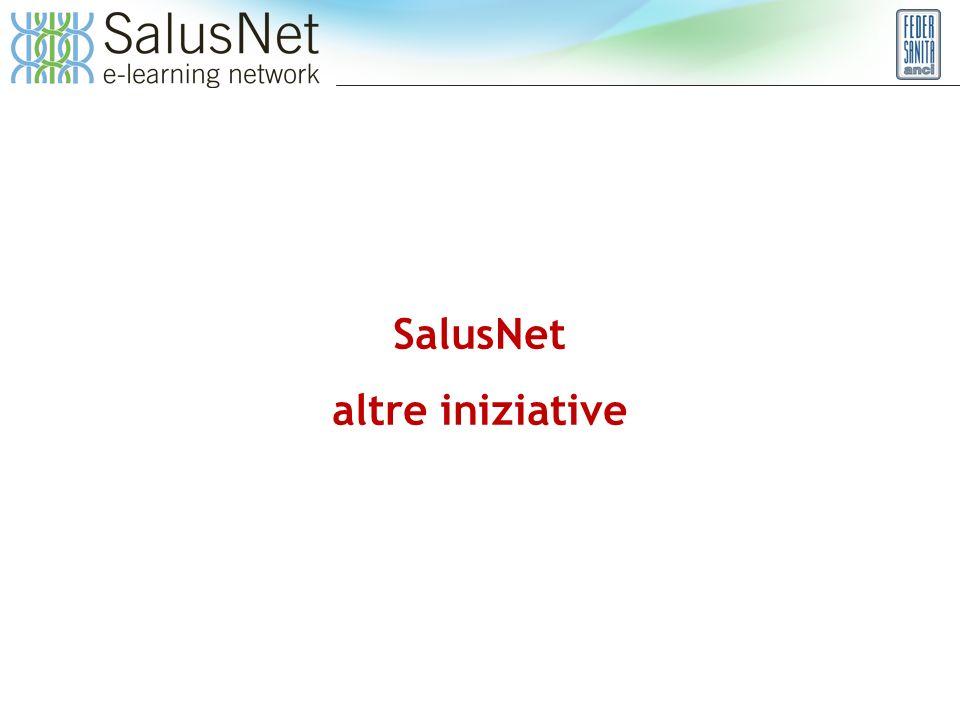 SalusNet altre iniziative