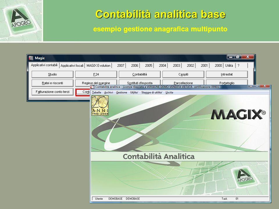esempio gestione anagrafica multipunto