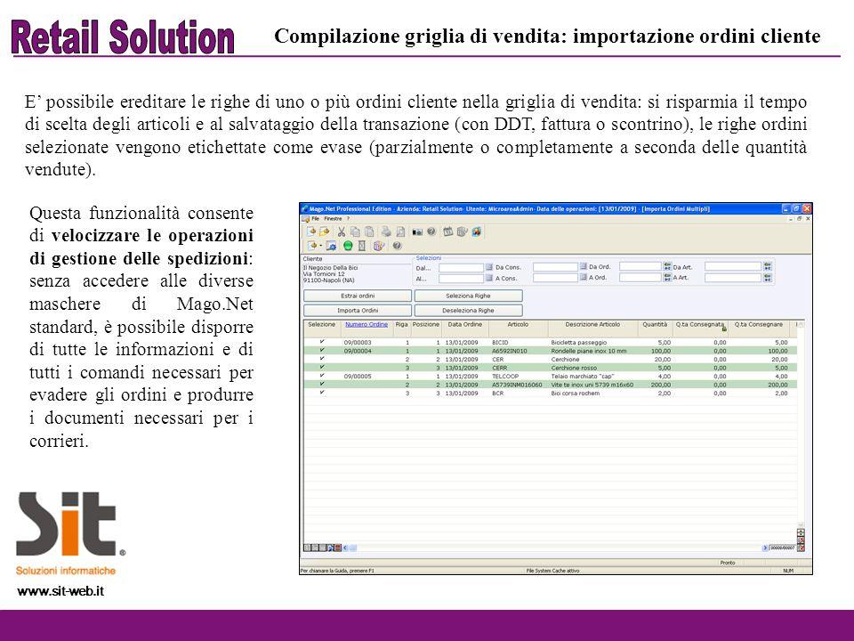 www.sit-web.it Gestione bundle: anagrafiche Per bundle si intende un insieme di prodotti che devono essere venduti come un unica entità.