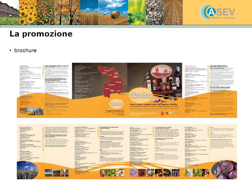 La promozione brochure