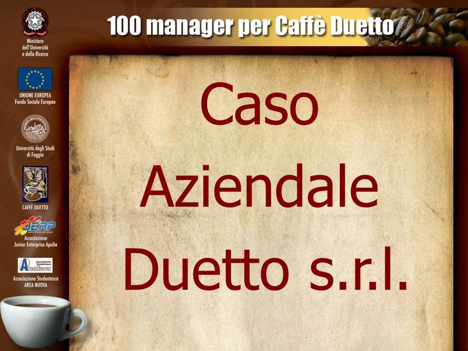 Lancio dell azienda di torrefazione Caffè Duetto s.r.l.