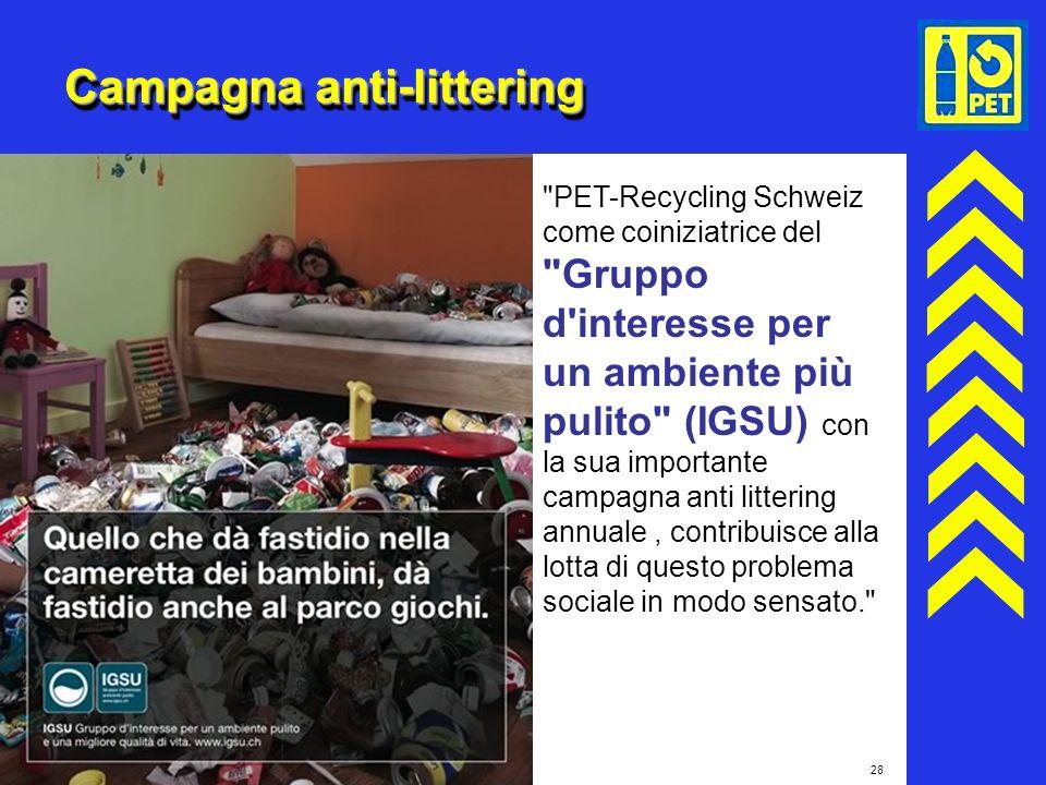 28 Campagna anti-littering