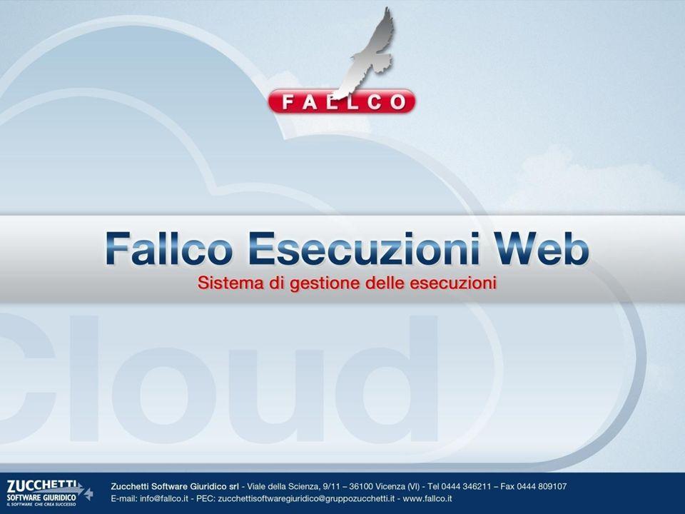 Introduzione Fallco Esecuzioni Web è nativo e funzionante in ambiente web.