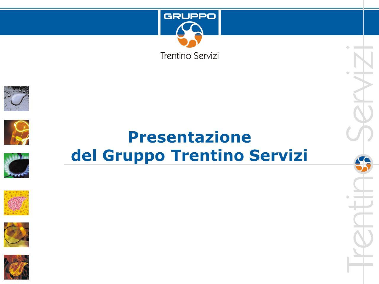 Presentazione del Gruppo Trentino Servizi