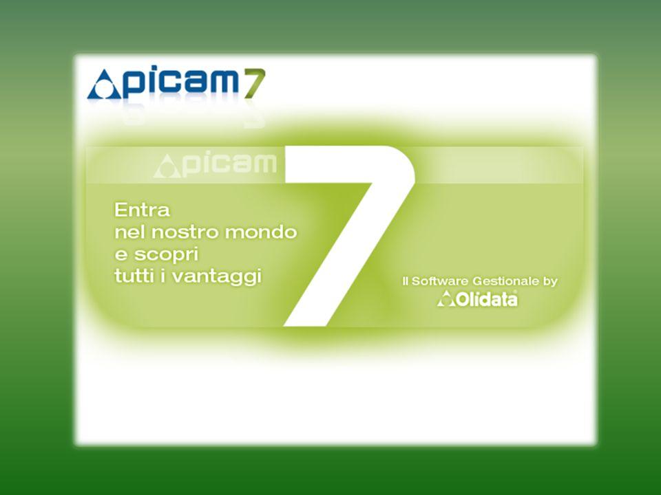 Perché Picam7 ? Picam ISAM Picam X Picam Plus Picam 4GL Picam 2000 Picam FX