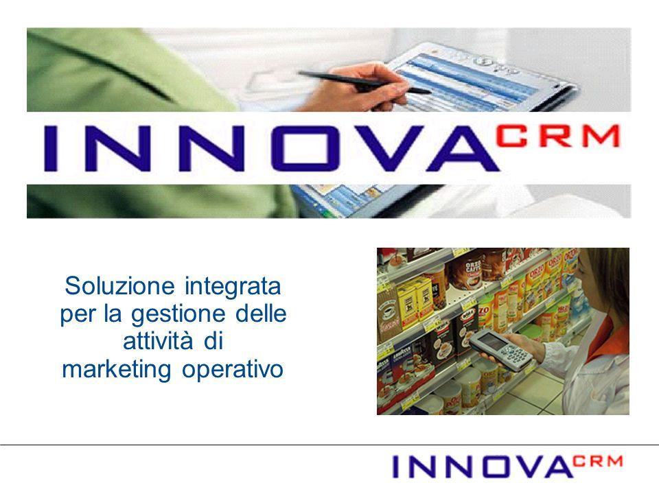 Soluzione integrata per la gestione delle attività di marketing operativo