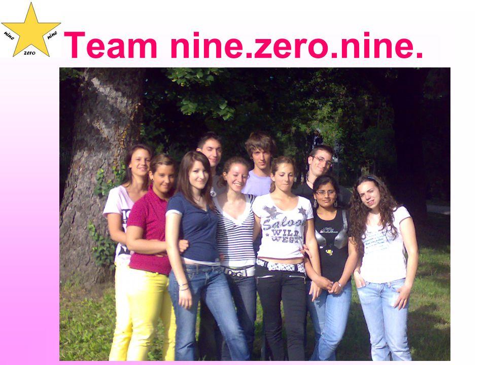 Team nine.zero.nine.