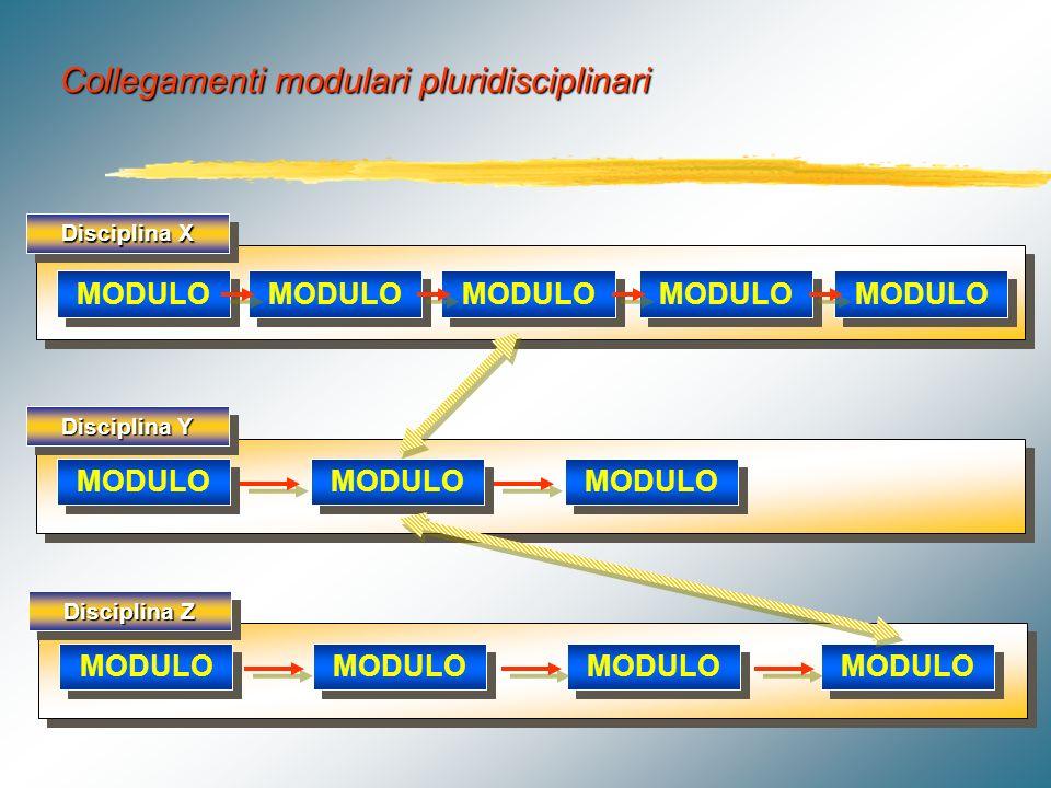 Titolo del percorso Obiettivi specifici MODULO Progetto modulare disciplinare a sviluppo non sequenziale Obiettivi specifici MODULO Obiettivi finali