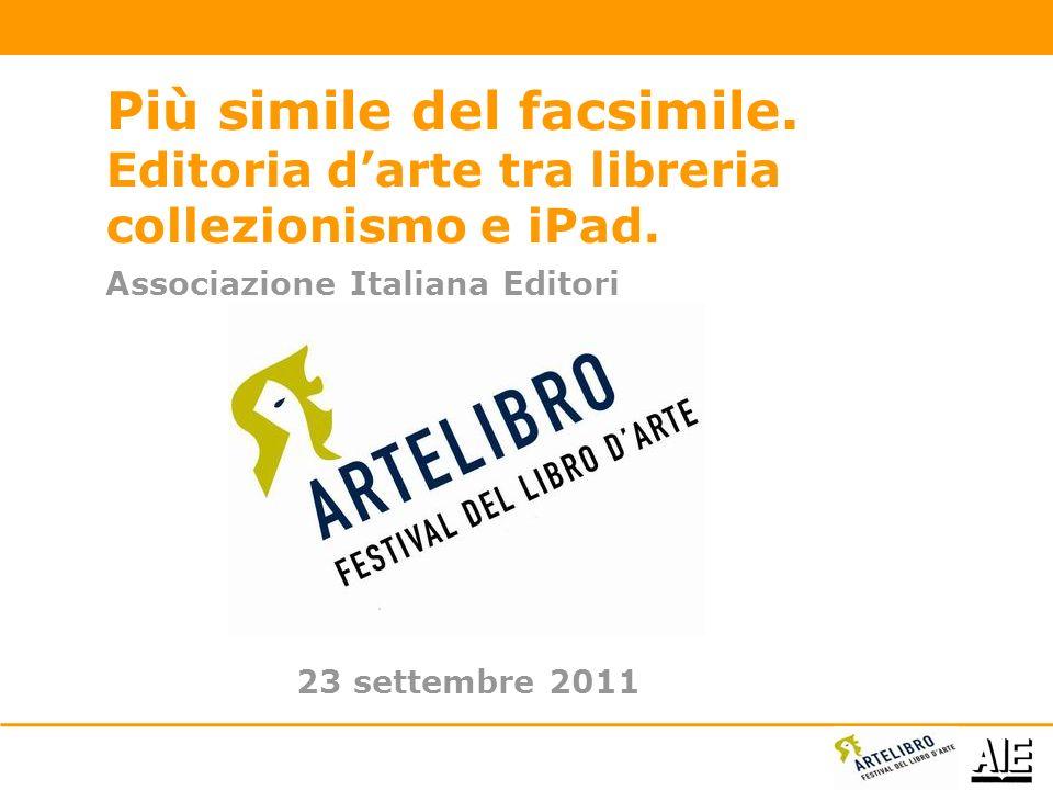 Associazione Italiana Editori Più simile del facsimile.