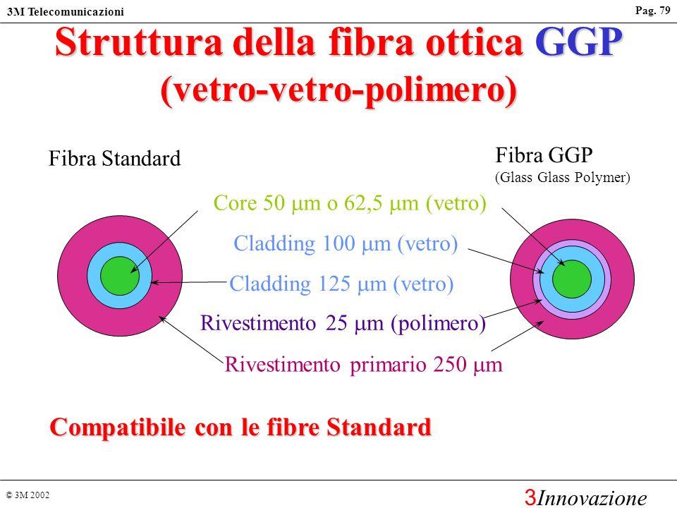 © 3M 2002 3M Telecomunicazioni 3 Innovazione Pag. 78 Bretelle ottiche Volition TM u VF-45 - VF-45 u ST o SC - VF-45 u MT-RJ - VF-45 u Lunghezze Standa