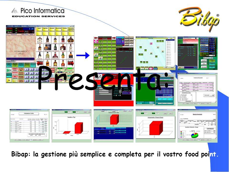Bibap: la gestione più semplice e completa per il vostro food point. Presenta:
