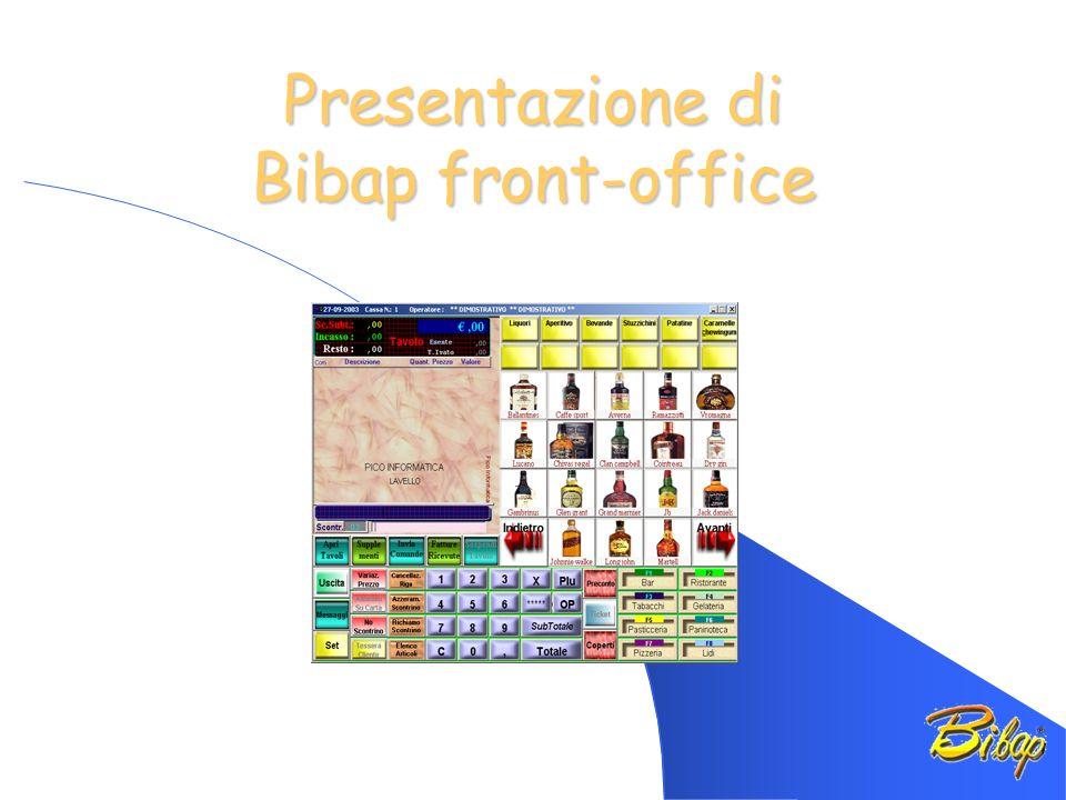 Presentazione di Bibap front-office