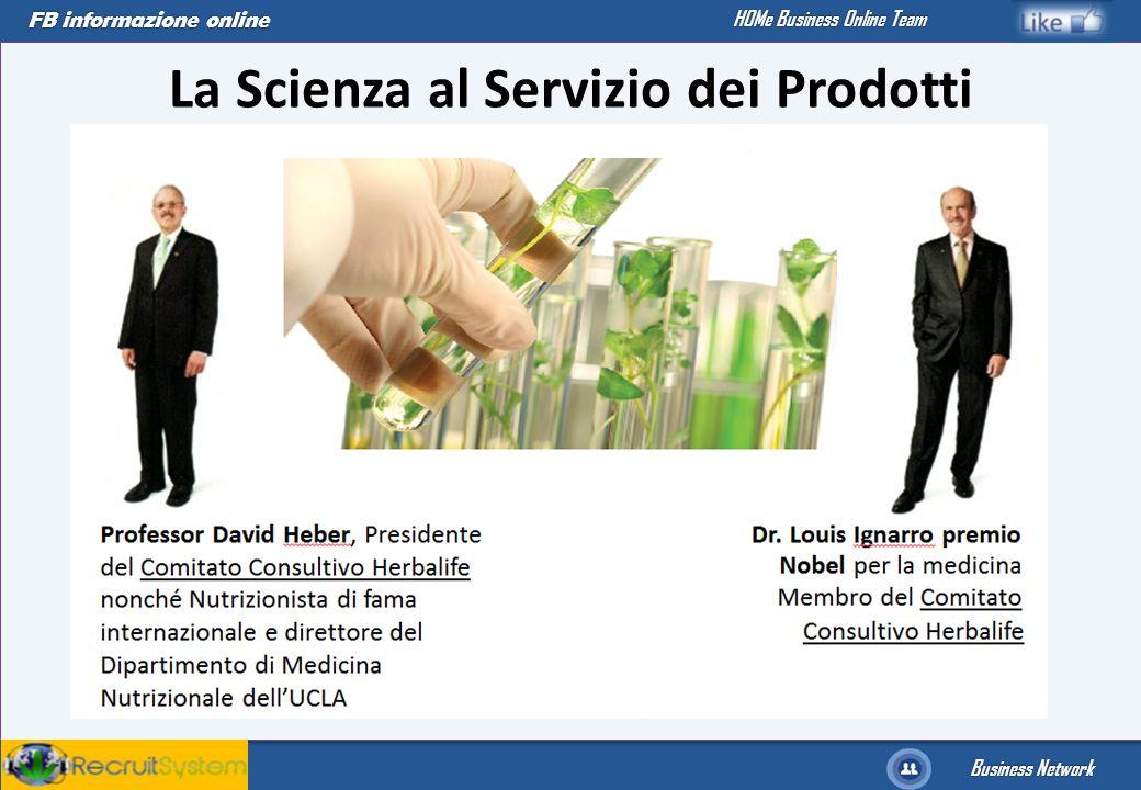 FB informazione online Business Network HOMe Business Online Team La Scienza al Servizio dei Prodotti