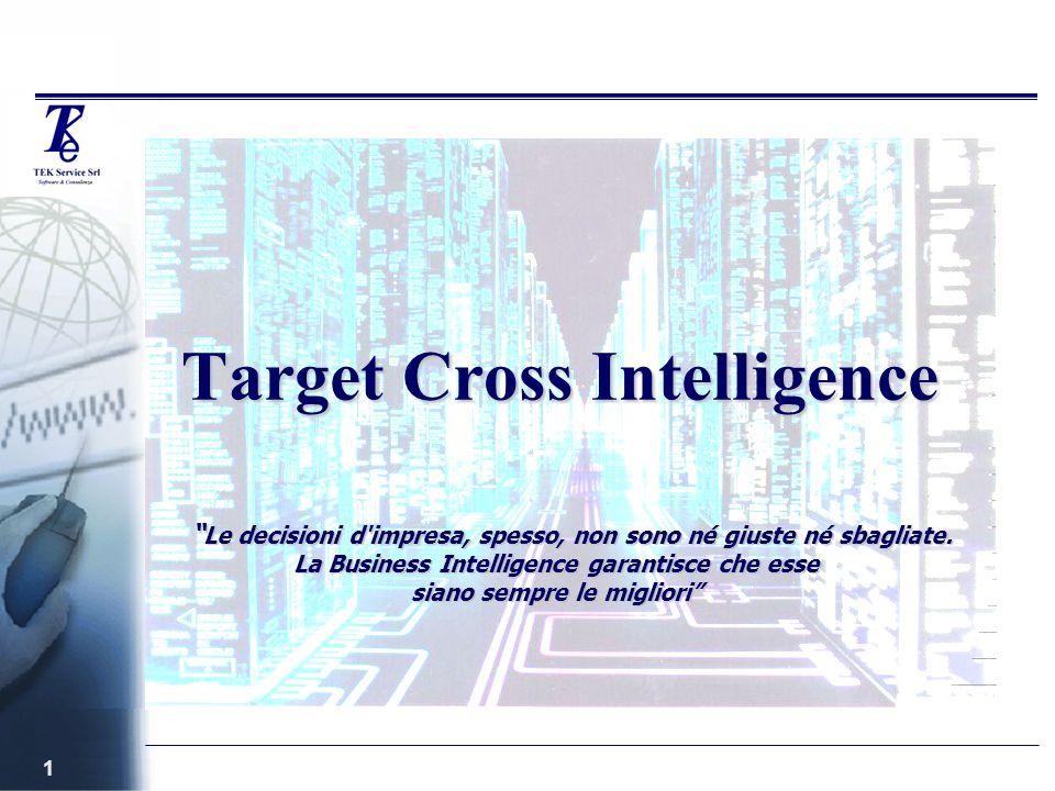 1 Target Cross Intelligence Le decisioni d impresa, spesso, non sono né giuste né sbagliate.