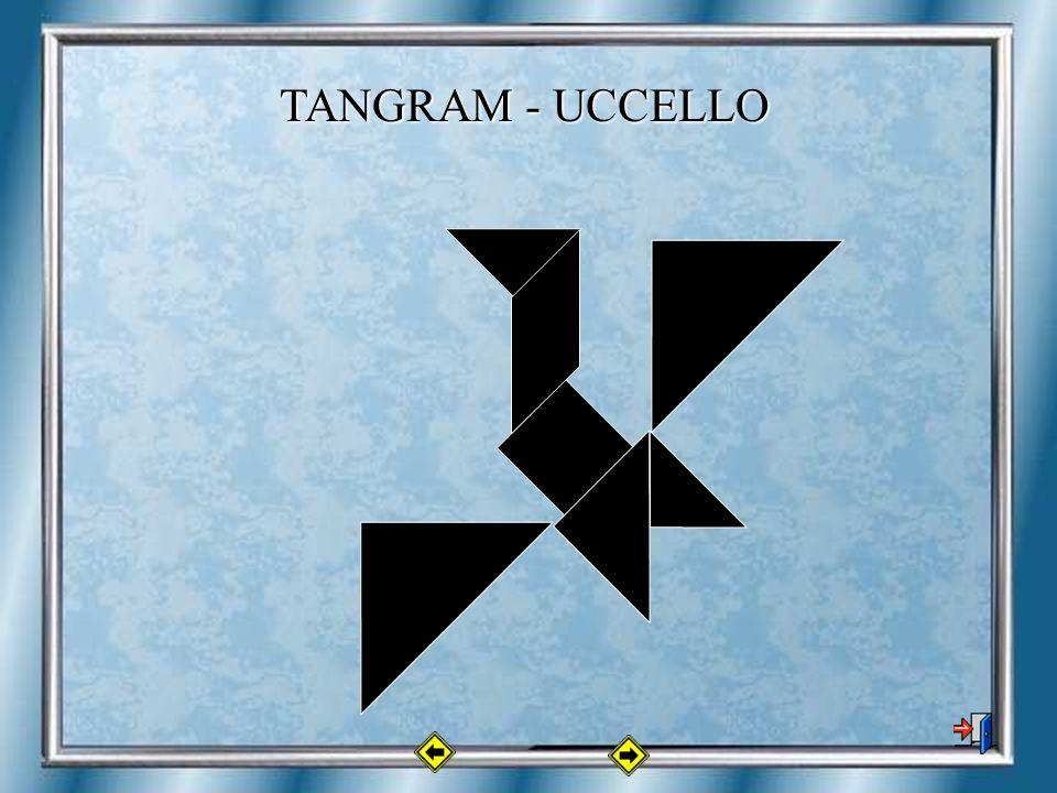 TANGRAM - UCCELLO