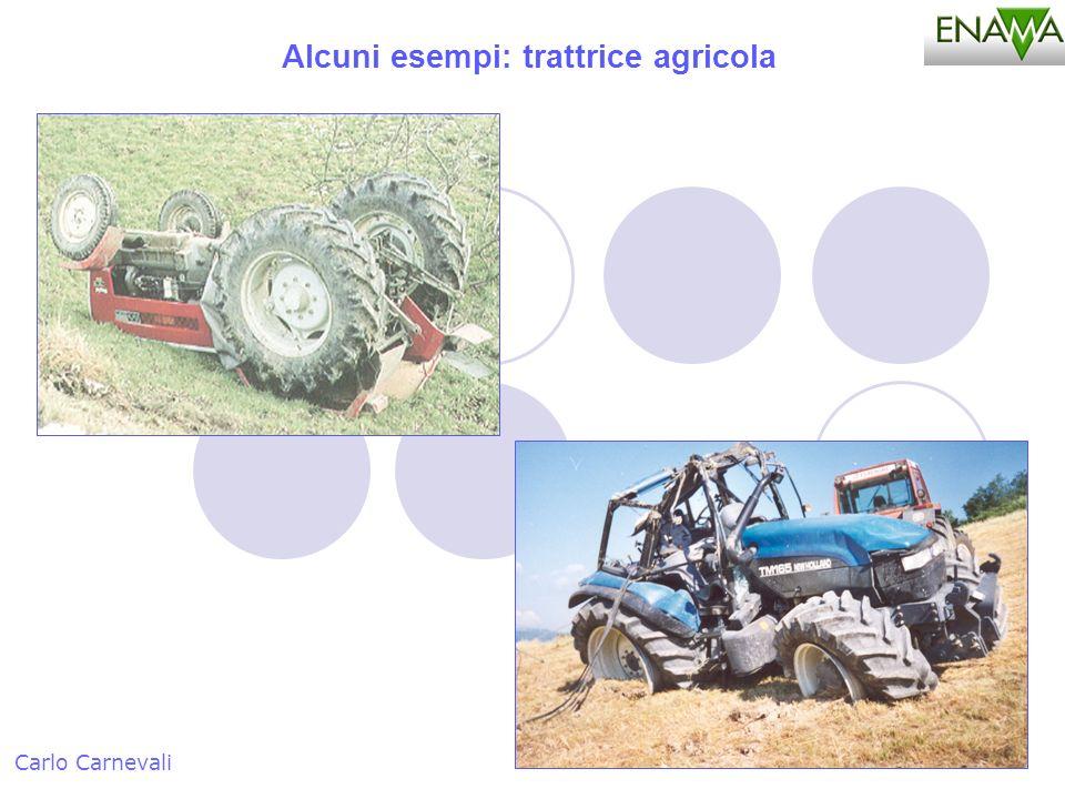 Alcuni esempi: trattrice agricola Carlo Carnevali