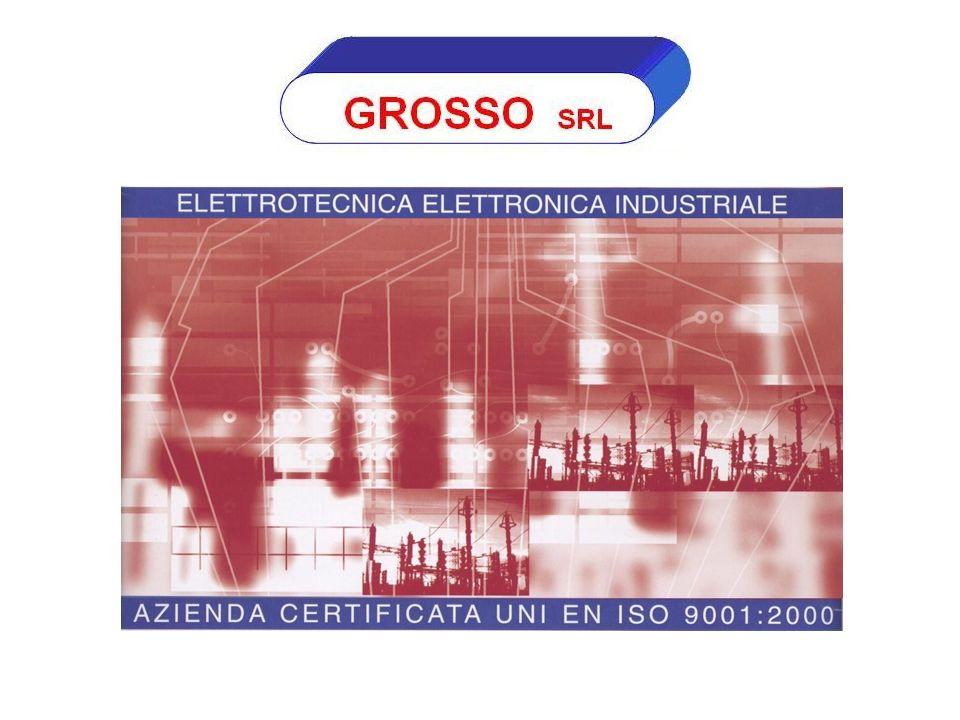 PROGETTAZIONE Conforme alla norma CEI-02, la società Grosso S.r.l.