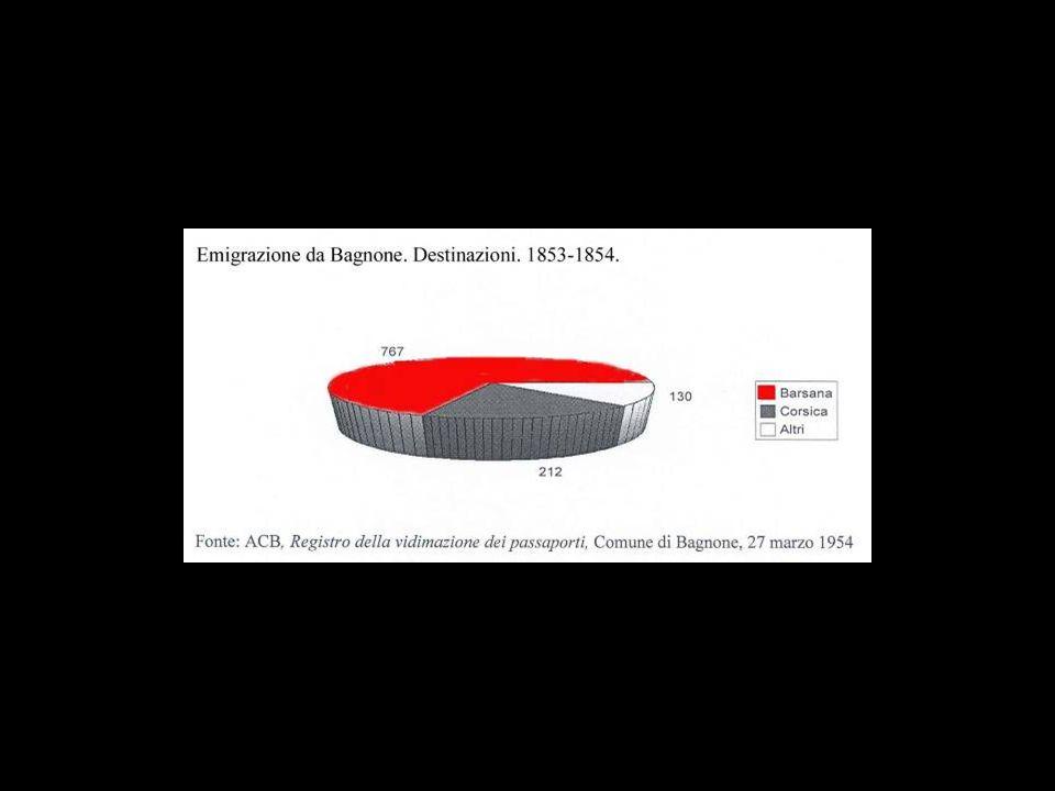 1861 - 1865 Risultano tra i certificati rilasciati per lesercizio delle professioni 39 iscrizioni, di cui una donna, tutti di Pieve tranne 6.