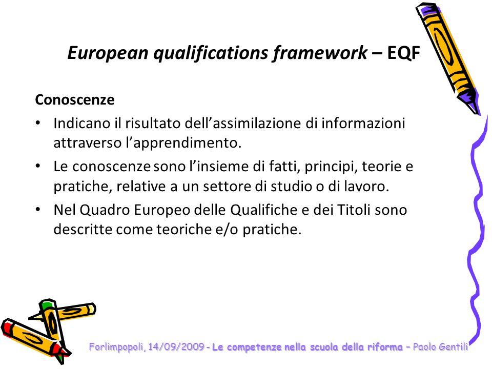 Forlimpopoli, 14/09/2009 - Le competenze nella scuola della riforma – Paolo Gentili Le competenze Come cambiano i programmi ministeriali Programma N.O.