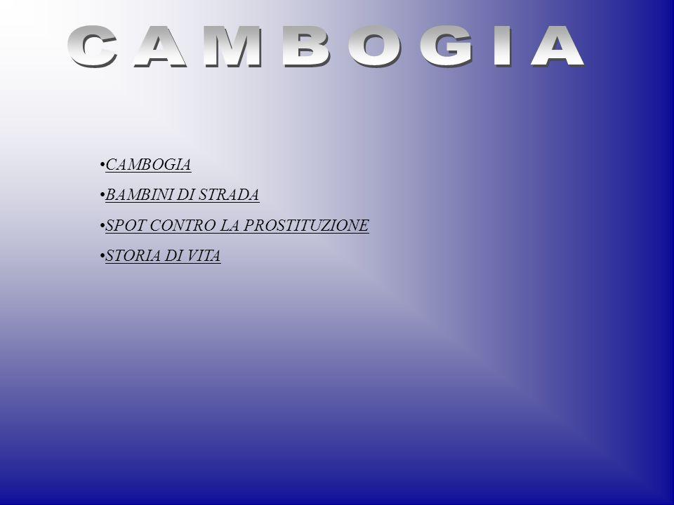 CAMBOGIA BAMBINI DI STRADA SPOT CONTRO LA PROSTITUZIONE STORIA DI VITA
