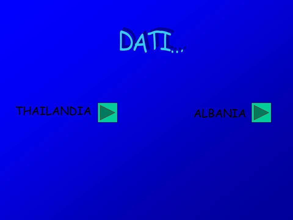 THAILANDIA ALBANIA