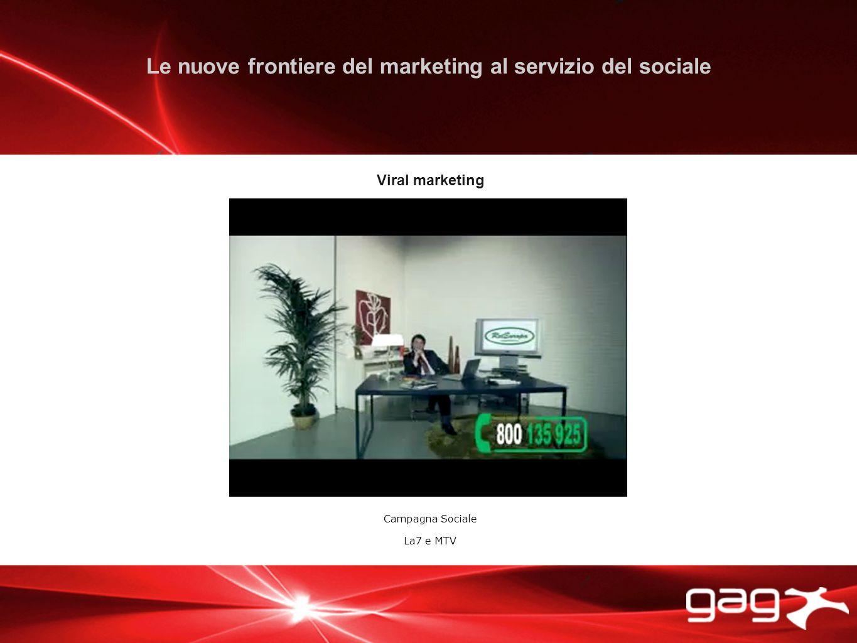 Viral marketing Campagna Sociale La7 e MTV