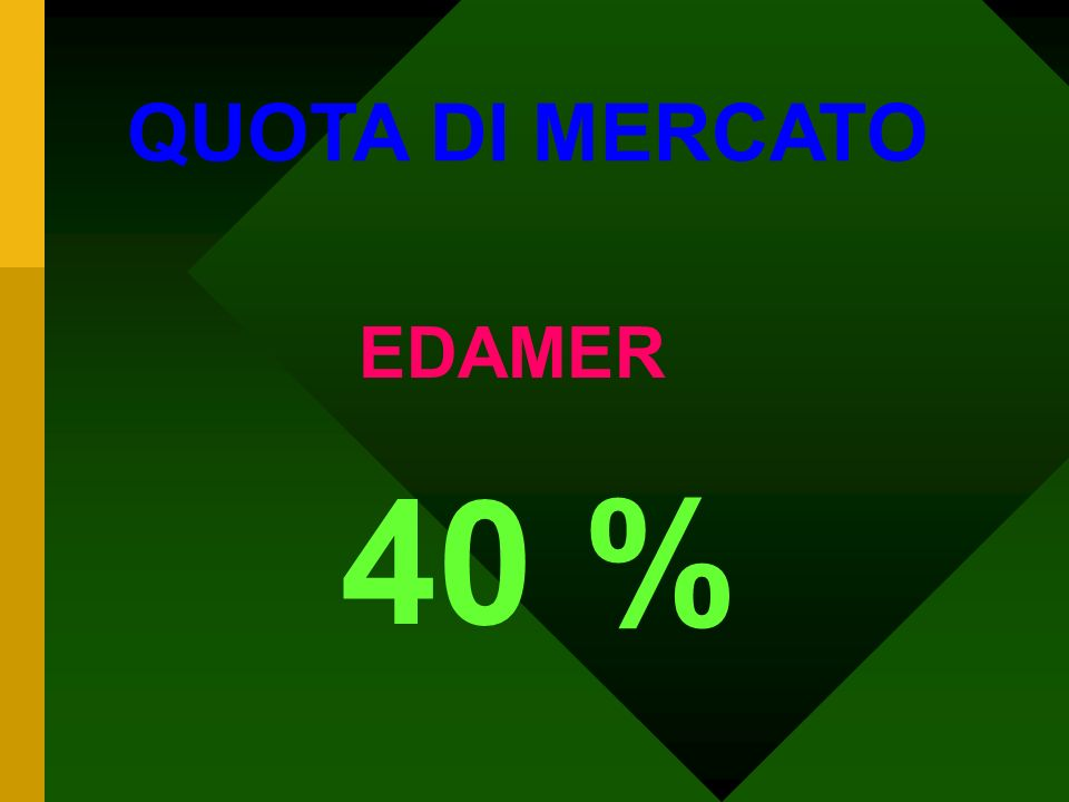 QUOTA DI MERCATO MAASDAMER OLANDESE 70 %