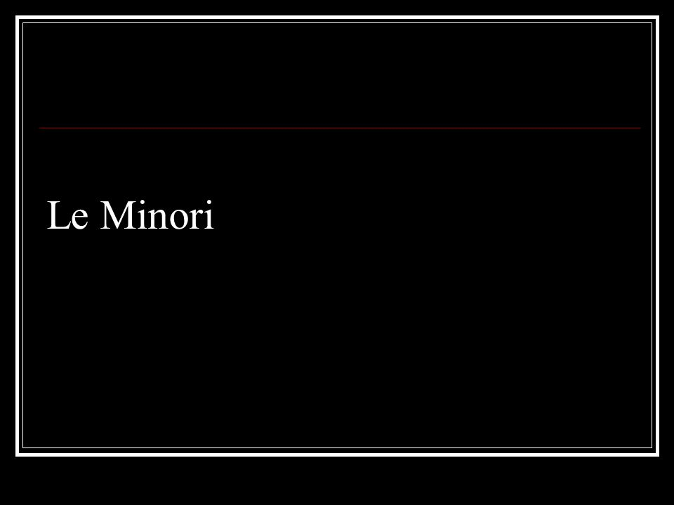 Le Minori