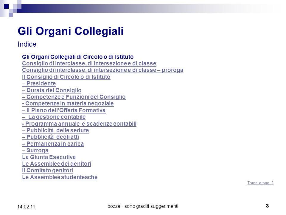 bozza - sono graditi suggerimenti44 14.02.11 Le Assemblee studentesche (Artt.