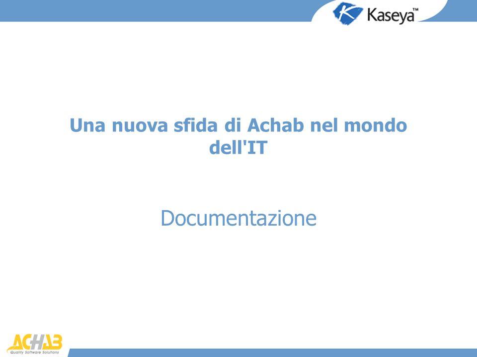 Una nuova sfida di Achab nel mondo dell'IT Documentazione